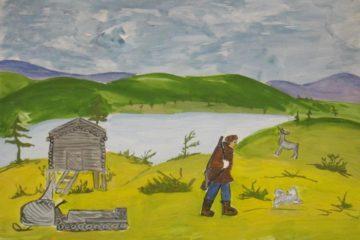 Маленькие художники поселка Волочанка приглашают на виртуальную выставку