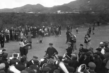 Первый Всесоюзный день физкультурника в Норильске отметили танцами и волейболом