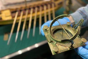 В Музее Норильска семь десятилетий хранятся латунные солнечные часы