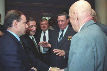 День металлурга – 1997 собрал в Норильске руководителей комбината нескольких поколений