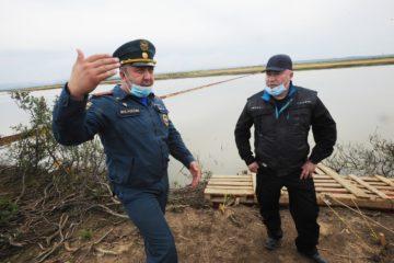 Николай Тимофеев оценил ход работ в зоне разлива топлива на ТЭЦ-3