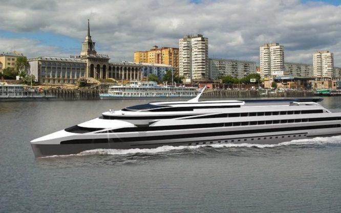 Между Красноярском и Дудинкой будут ходить два новых круизных лайнера