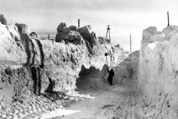 Термин «снегоборьба», как считают специалисты, появился в Норильске