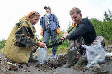 Два отряда Большой норильской экспедиции завершили этап отбора проб
