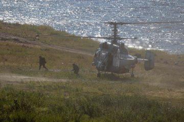 Под Норильском продолжаются учения Северного флота