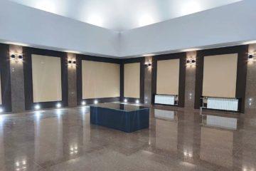 После капитального ремонта вновь открыли ритуальный зал