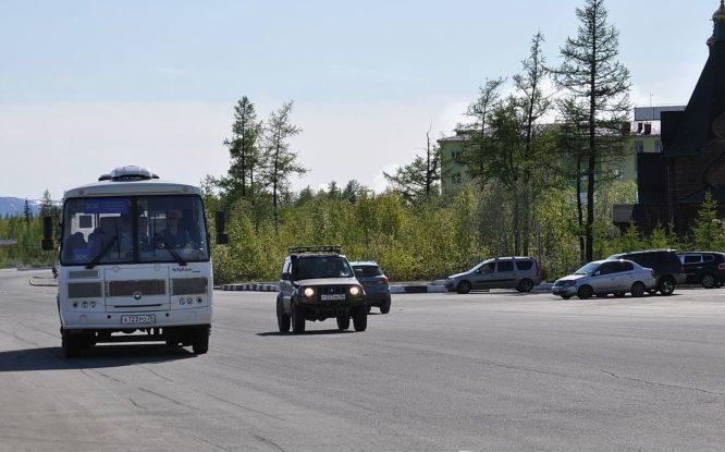Три новых автобуса маршрута 30к выйдут на линию в Талнахе