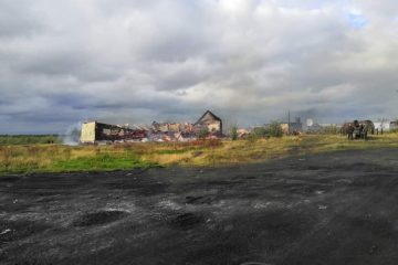 В Волочанке дотла сгорела единственная школа