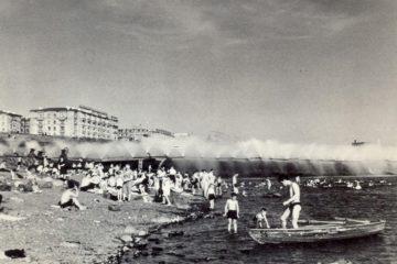 В 1958 году на Долгом открыли лодочную станцию