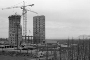 В 1989 году югославские строители начали возводить оганерскую больницу