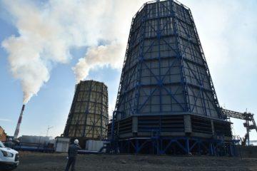 На Медном заводе запустили новую градирню