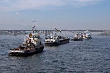 Конкурс экипажей проходит в Енисейском речном пароходстве