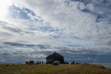 Ученые Большой норильской экспедиции исследуют озеро Мелкое