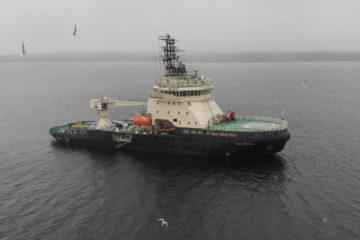 Ученые РГО и Северного флота ищут ледокол в Енисейском заливе