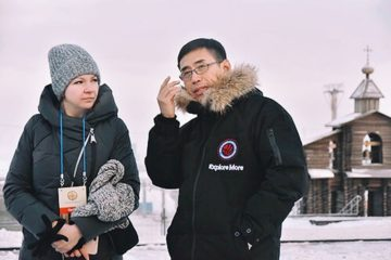 Таймыру передал привет сотрудник канцелярии иностранных дел из Китая