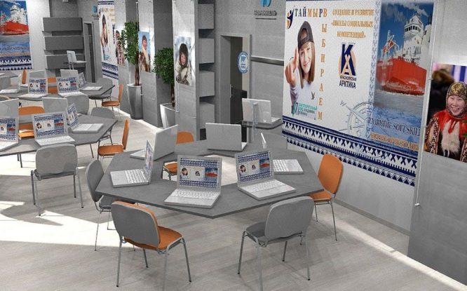 Готовы эскизы нового общественного пространства в Дудинке