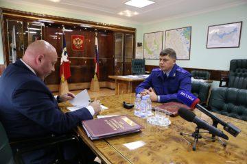 Норильск с рабочим визитом посетил прокурор Красноярского края