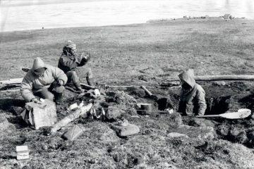 Исследователи Арктики ели на завтрак овсянку