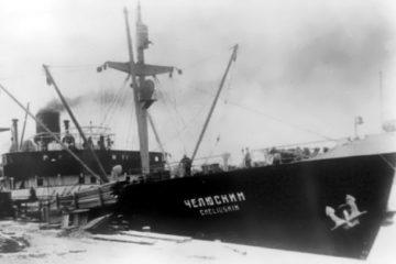 Российские ученые впервые сняли на видео легендарный пароход «Челюскин»