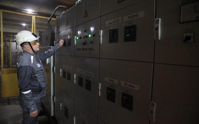 На руднике «Заполярный» отремонтировали трансформаторные подстанции