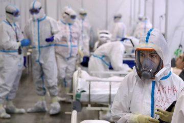 В России занято почти 90 процентов коек для пациентов с коронавирусом
