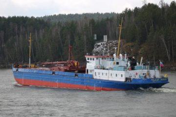 Речники завершили доставку грузов на север Красноярского края