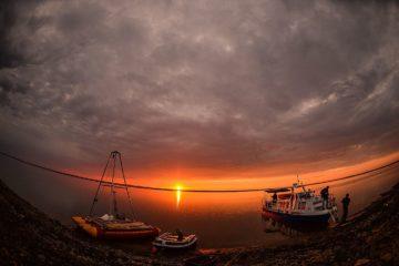 Ученые РАН завершили бурение на озере Пясино