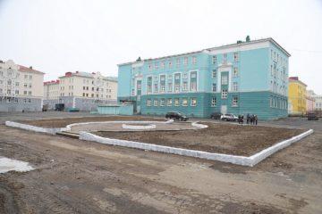 В Норильске начали обустраивать еще одно место отдыха