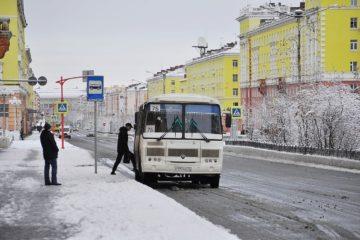 Норильчане не соблюдают масочный режим в автобусах