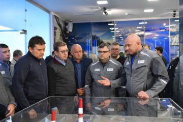 Делегация Совета Федерации посетила шоу-рум «Серного проекта»