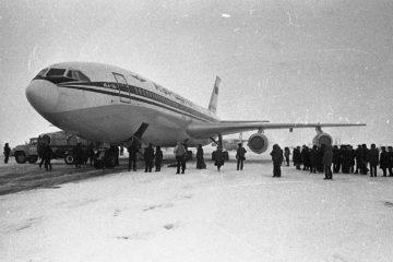 Через три года после первого Ил-62 в Алыкеле приземлился Ил-86
