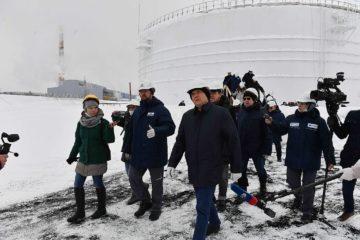 Делегация Совета Федерации проинспектировала место аварии на ТЭЦ-3