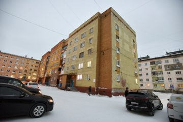 Дом на Московской, 14, признали аварийным