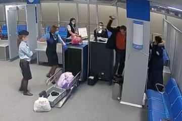 Нетрезвый мужчина устроил дебош в аэропорту Норильска