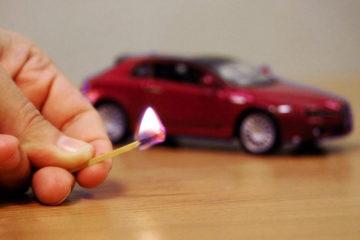 Норильчанка подожгла чужой автомобиль ради забавы