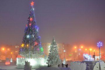 Главной темой оформления новогодних  городков Норильска станут русские сказки