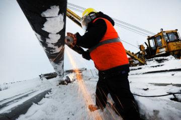 В Норильске завершают плановую замену производственных трубопроводов