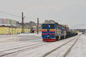 Самая северная в мире железная дорога обновляет парк техники