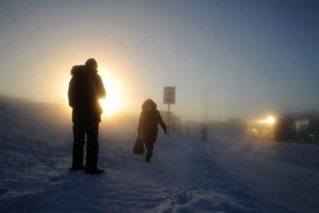 Уходящее солнце: скоро придет полярная ночь