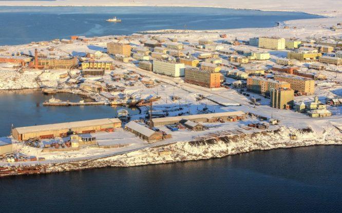 Границы порта Диксон на Таймыре расширят для строительства нефтетерминала