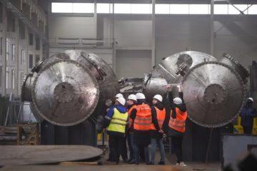 Новые башни для газоочистки скоро поедут в Норильск