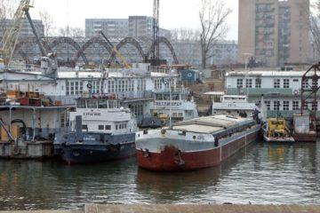 В Енисейском пароходстве началась ремонтная кампания