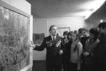 Звание заслуженного художника РСФСР Николай Лой получил в Норильске