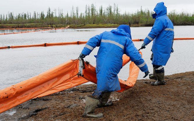 Эксперты оценили ущерб от разлива топлива в Норильске в 18 миллиардов рублей