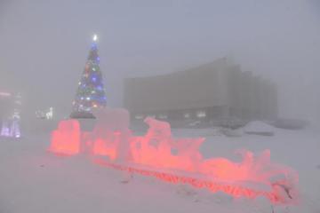В новогоднюю ночь норильчанам обещают безветренную погоду