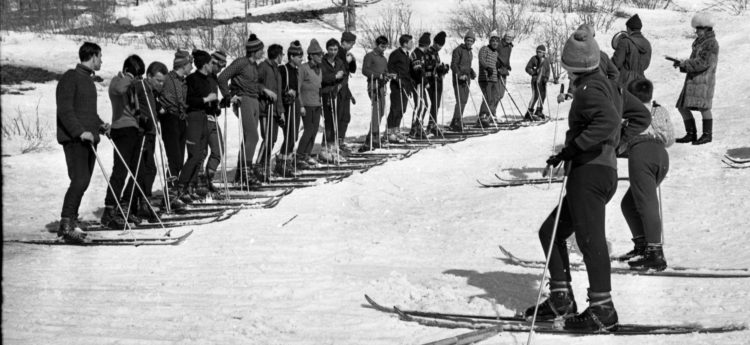 С открытием Талнаха норильчане встали на горные лыжи