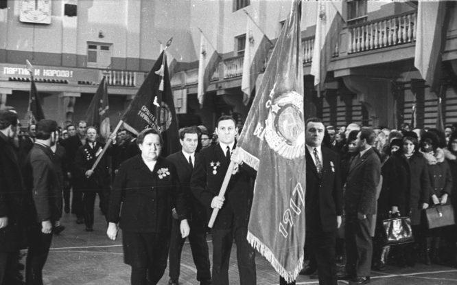 Полувековой юбилей СССР Норильск отмечал со всей страной