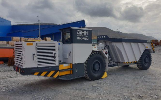 На рудниках «Норникеля» появилась новая техника
