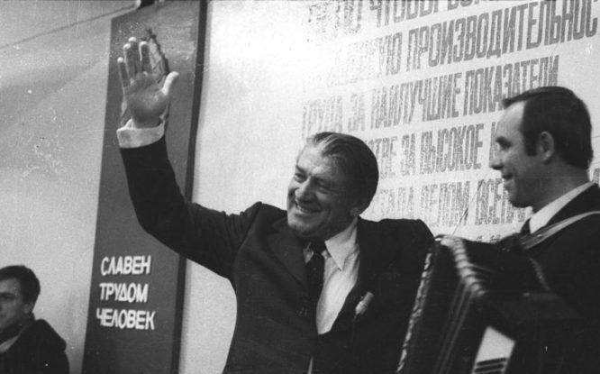 В 1973-м на «Маяке» встречали народного артиста СССР Николая Крючкова