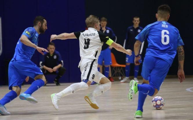 МФК «Норильский никель» поделил очки с «Синарой»